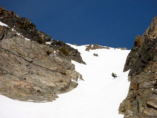 4th of July Couloir, Beehive Peak