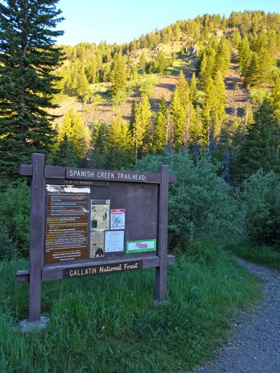 Spanish Creek Trailhead