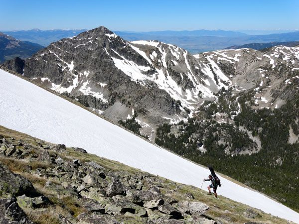 Skiing The Blaze, Blaze Mountain, Montana
