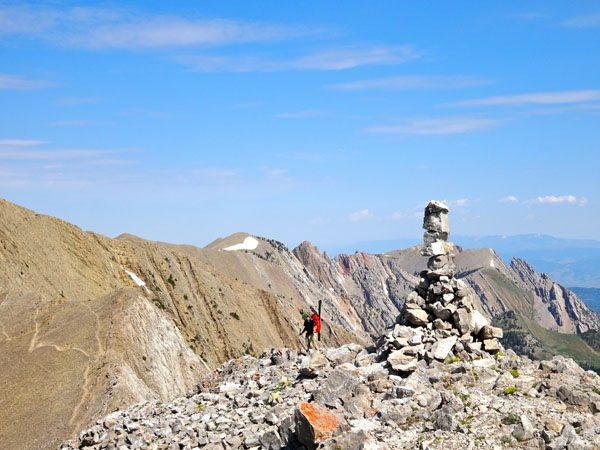 Summit of Naya Nuki