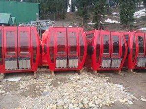 New Gulmarg Gondola Cabins