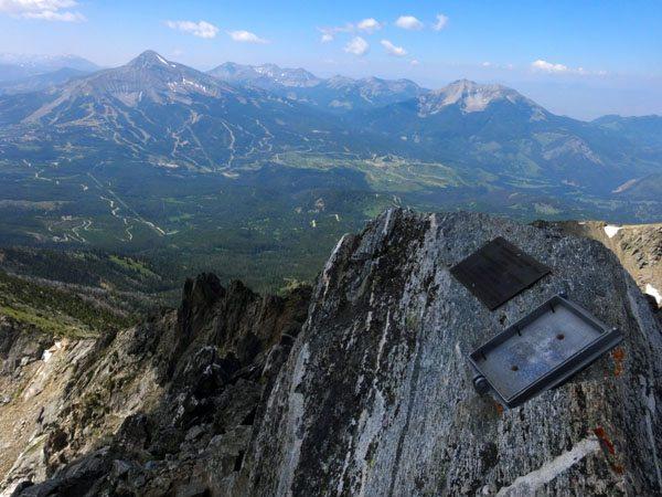 Summit of Beehive Peak