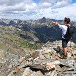 Climbing Wilson Peak Madison Range Big Sky Mt A