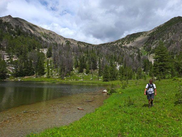 Dudley Lake Wilson Peak, Big Sky, MT