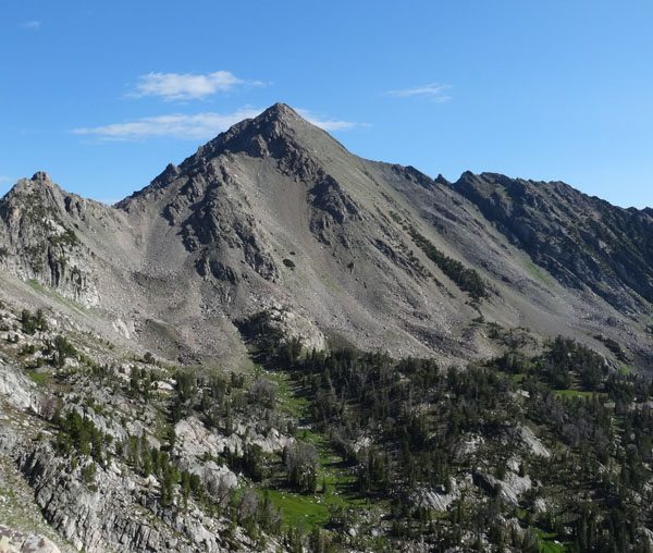 Gallatin peak