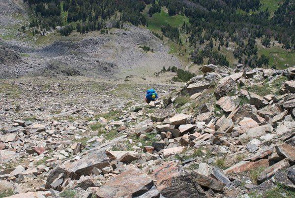 Gallatin Peak Scramble