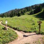 Tr Hiking Beehive Basin Trail Big Sky Montana A Mountain Journey