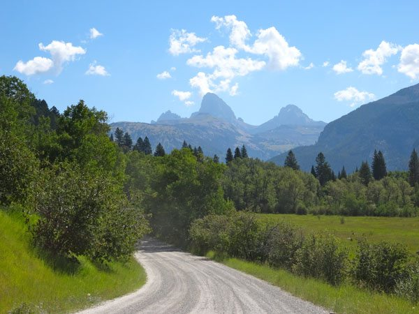 Teton Canyon Road