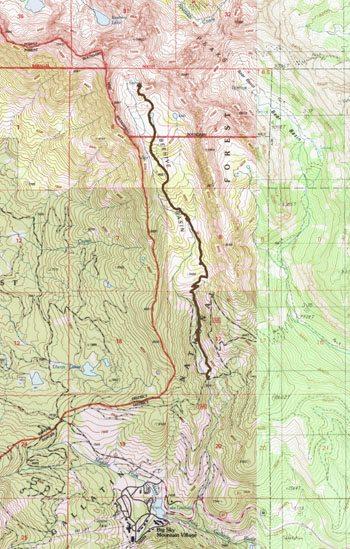 Gaia GPS - Beehive Basin