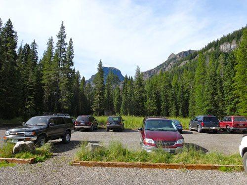 Hyalite Creek Trailhead
