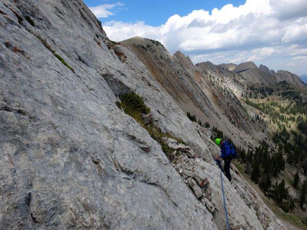 Climbing Peak 9562Climbing Peak 9562