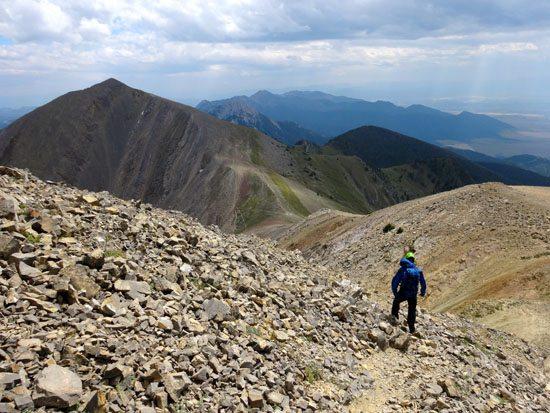 Climbing Peak 9562