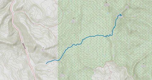 Gaia GPS - Ramshorn Peak