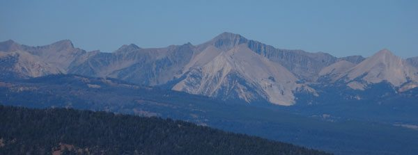 Big Horn Peak, Yellowstone National Park