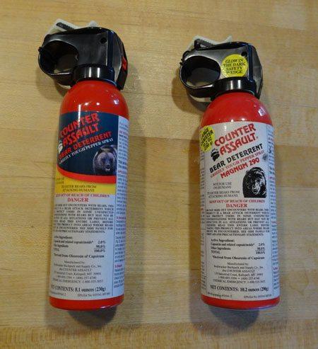 Bear Spray Can