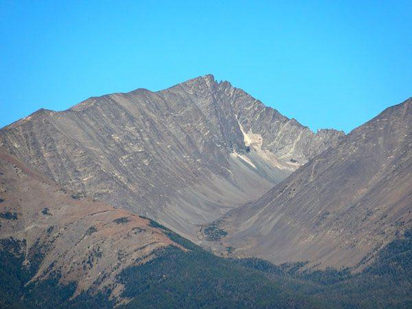 Crazy Peak's East Face