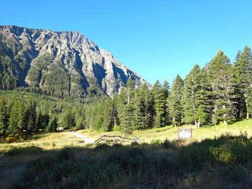 Big Timber Canyon Trailhead