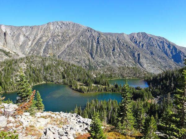 Blue Lake and Thunder Lake