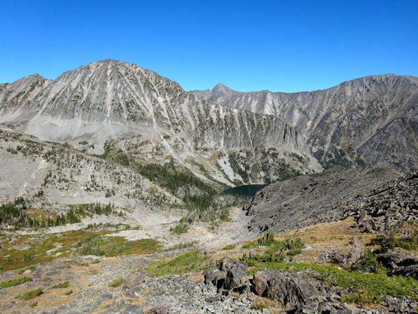Granite Peak and Granite Lake