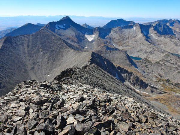 west ridge crazy peak