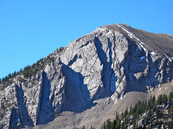 Northeast Slab Route on Peak 9562