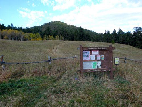 Indian Ridge Trailhead