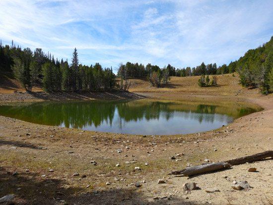 Arrow Lake Spanish Peaks