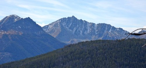 Mount Wilson's North Face