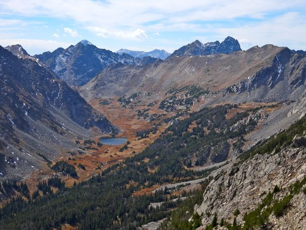 Thompson Lake in Hellroaring Canyon