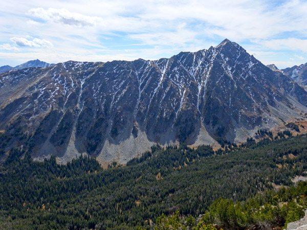 Gallatin Peak's North Face