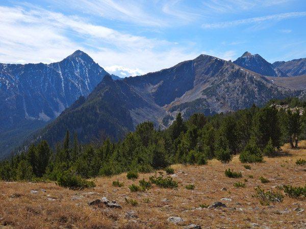 Gallatin Peak and Beacon Point