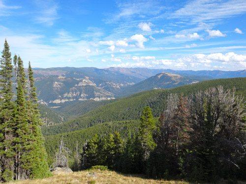Storm Castle Peak and Garnet Mountain