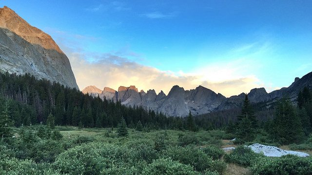Cirque of Towers, Wind River Range, Wyoming