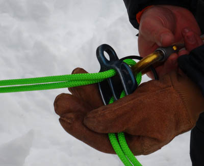 Threading The Belay Device
