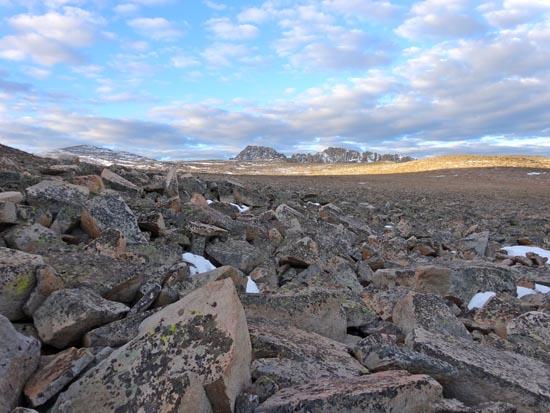 First Glimpse of Granite Peak