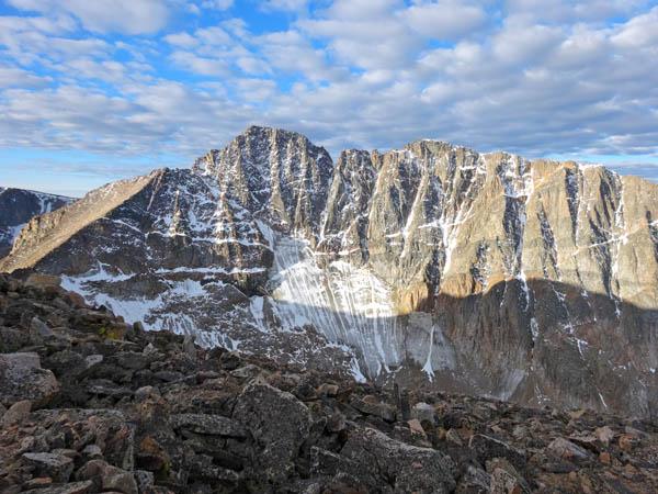 The North Face of Granite Peak and the Granite Glacier