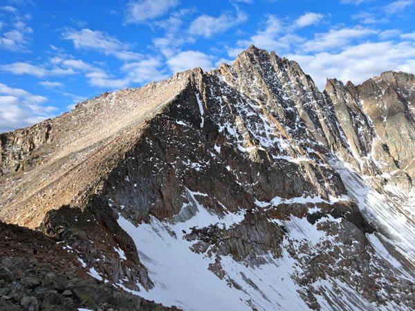 The East Ridge of Granite Peak