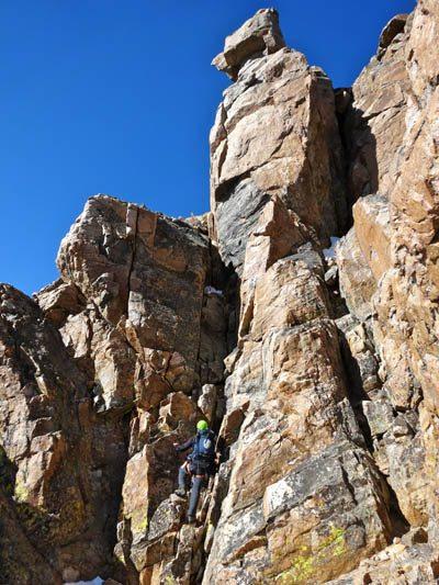 Chimneys Granite Peak