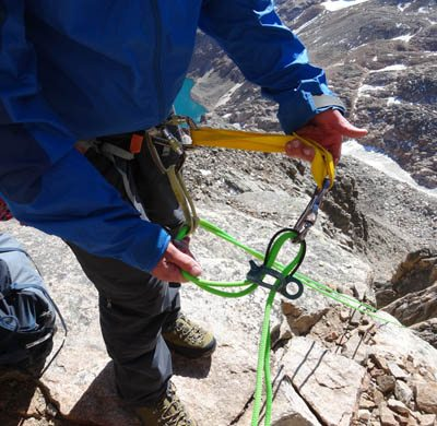 Rappel Extension With Backup