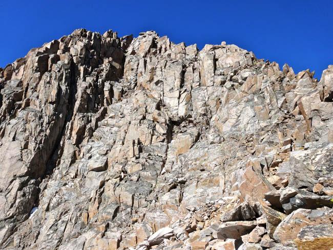 The Upper Face of Granite Peak