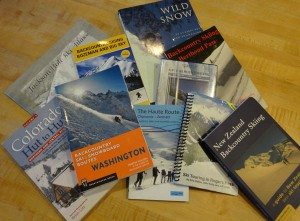 Backcountry Skiing Guidebooks