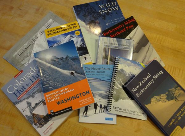 Backcountry Skiing Guidebooks