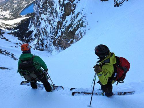 backcountry ski partner