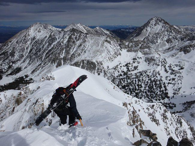 Peak 10602, Madison Range, montana