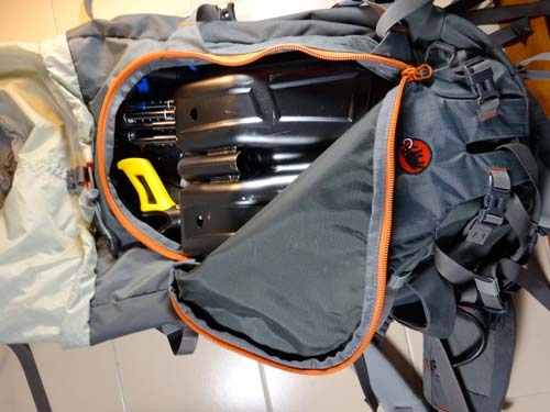 The Mammut Trion Pro 50+7 Backpack
