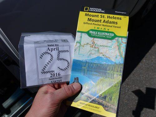 saint helens climbing permit
