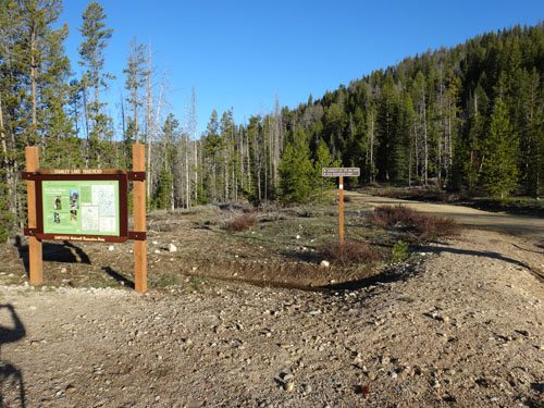 Stanley Lake Trailhead