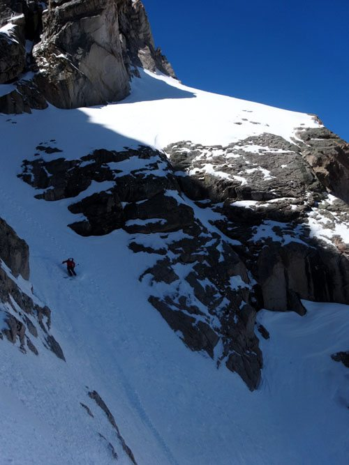 Ski North Couloir McGown Peak