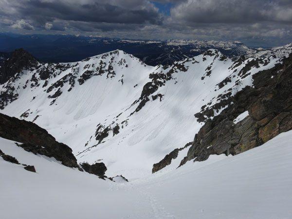 Bear Basin (Back of Middle Basin on left, Bear on right)