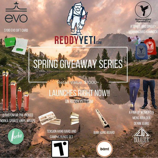 ReddyYeti Spring Giveaway